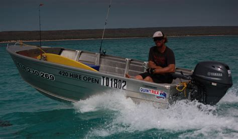 dinghy boat hire perth exmouth dinghy hire 4 2m tinny