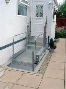 wheelchair lift for home flexibility of wheelchair lifts homes design