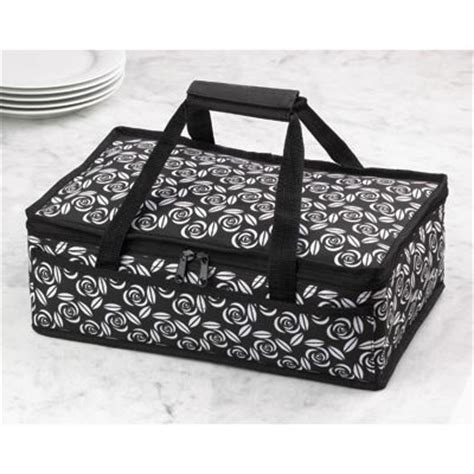 carrying bag of food casserole food dish insulated travel carry bag tote ebay