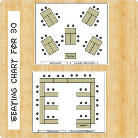 classroom layout for 30 students seating chart for 30 students classroommanagement
