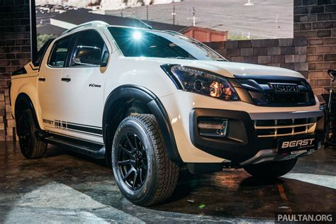 Harga Makeover Edisi And The Beast isuzu d max beast edisi terhad dilancar hanya 360 unit