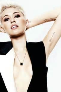 miley cyrus tattoos pictures images pics photos of her tattoos