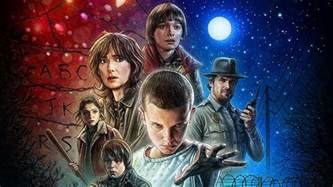 The wonderful Stranger Things poster ? and the 80s cult films that inspired it   Digital Arts