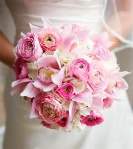 wedding flowers pink pink wedding bouquet