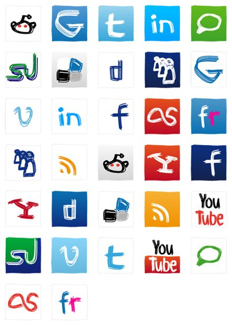 Free Search Social Media Social Media 32 Free Icons Icon Search Engine