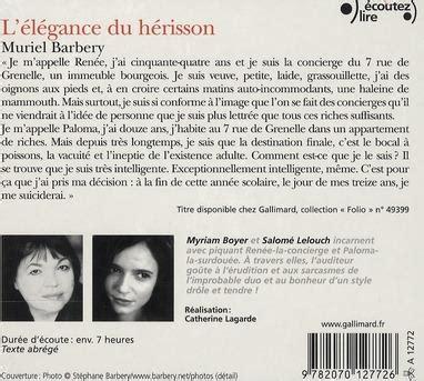 libro llgance du hrisson de livre l 233 l 233 gance du h 233 risson muriel barbery