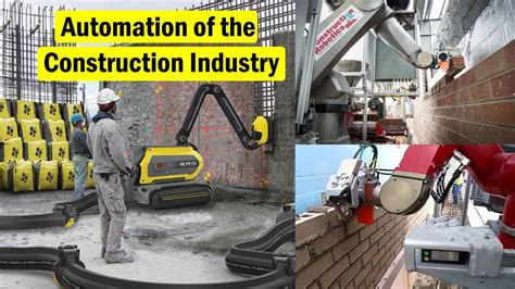 automation   construction industry