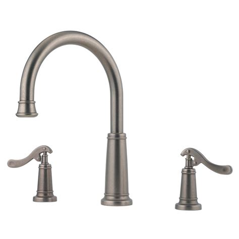 pewter kitchen faucets faucet com rt6 yp1e in rustic pewter by pfister