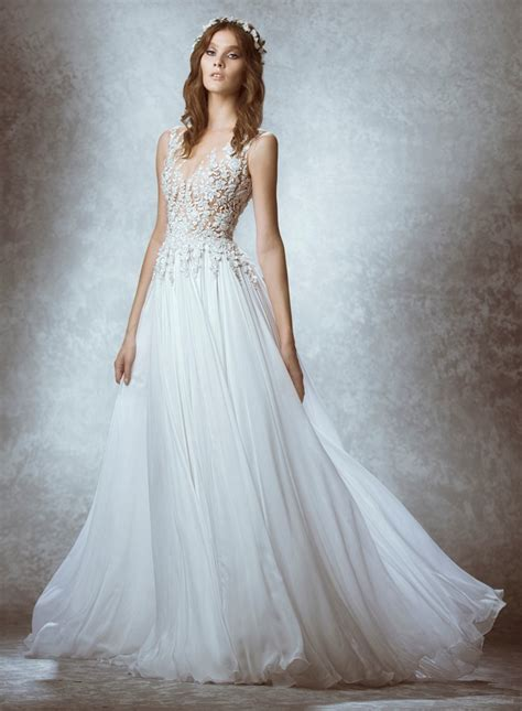 Top 8 Wedding Dresses For A Fall Wedding by Zuhair Murad 2015 Fall Bridal Wedding Dresses Photos
