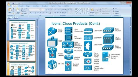 cisco visio stencils ppt 14 powerpoint network diagram icons images cisco network