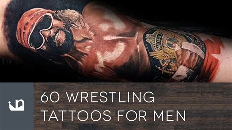 wrestling tattoos 60 tattoos tattoos for