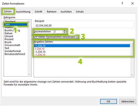 format excel zahl excel benutzerdefiniertes zahlenformat einrichten f 252 r