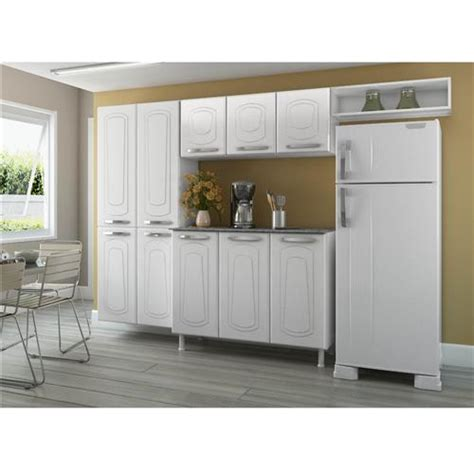 armario telasul arm 225 rio telasul novit 225 3 portas branco cozinha