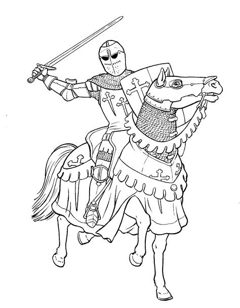 knight sword coloring page knight with sword coloring page colorbook pinterest