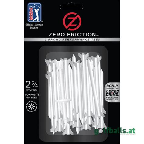 Golf Plastik Gc T2621 zero friction pga tour tees 2 3 4 30stk plastik golfballs at 4 80