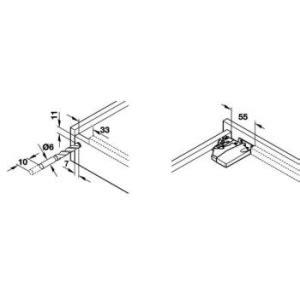 guide per cassetti blum guide per cassetti blum 560h3500b tandemplus portata 30kg