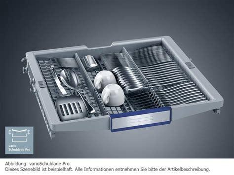 Varioschublade Siemens by Siemens Sn678x07te Vollintegrierbarer Einbau