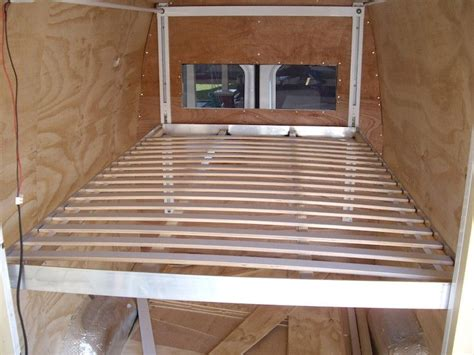 rv bed lift 45 best images about sprinter cer interior on pinterest