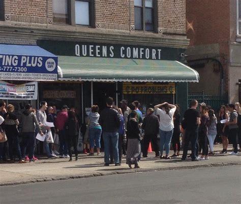 queens comfort restaurant comfort food and comics at queens comfort nyc