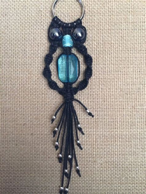 Macrame Keychain Patterns - 17 best images about macrame owl on the 70s