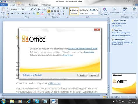 Microsoft Office Starter by Office Starter 2010 D 233 Couverte