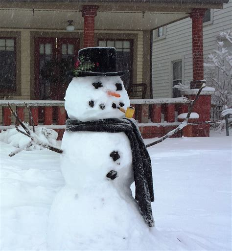 Get The Look An For The Snow by File Snowman In Indiana 2014 Jpg Wikimedia Commons