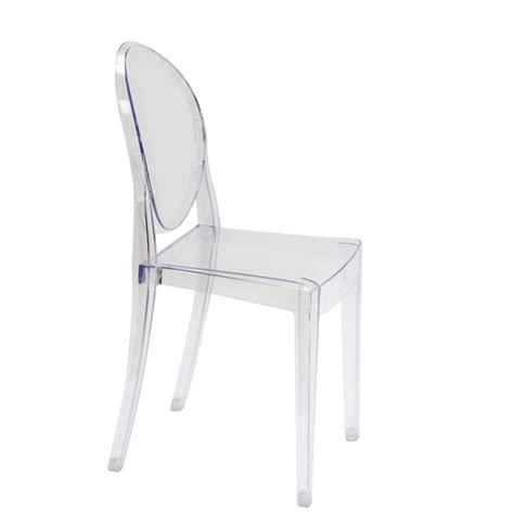 Clear Dining Chair by Style Ghost Dining Chair Clear Color