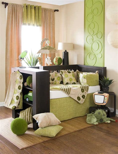 Green Nursery Decor Baby Bedding Sets And Ideas