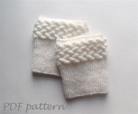 boot cuff knit pattern 25 best ideas about knitted boot cuffs on