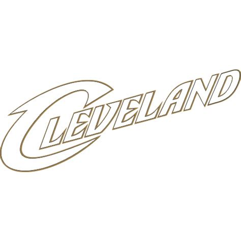 cavs coloring pages cleveland cavaliers script logo iron on sticker heat transfer version 3 model hts nba clc