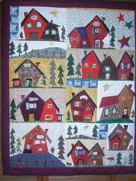 quilt pattern village a very merry christmas village by paula klingerman