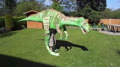 Handmade Dinosaur Costume - dinosaur costume 4 meters