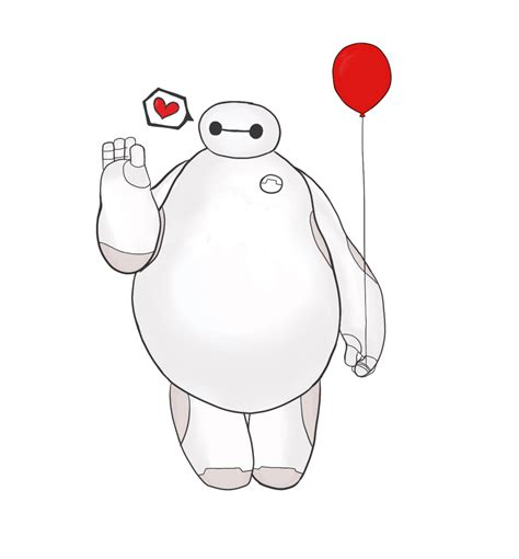baymax wallpaper we heart it hi i m baymax your personal healtcare companion by