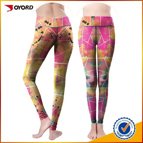colorful tights fit colorful compression running tights