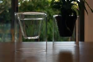 clear plant pots glass flower pot