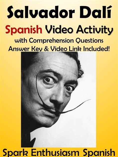 salvador dali biography in spanish spark enthusiasm teacher resources