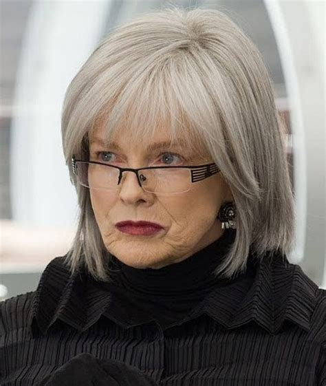 hairstyles for women over 60 with glasses glass woman