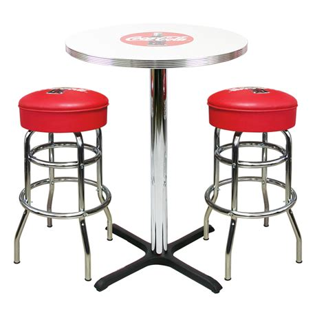 Coca Cola Table And Chairs by Retro Coca Cola Furniture Stools Table And Chairs