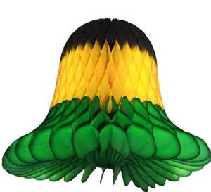 jamaica colored hanging tissue paper bell decoration jpg