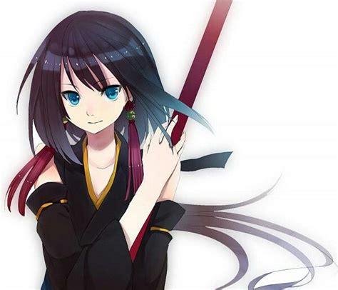 anime ninja hairstyles anime girl ninja crystal eyes dark brown hair a n i m