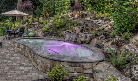 backyard features landscaping in australia exclusive water feature enhances