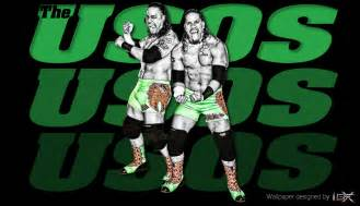 The usos wwe wallpaper by theelectrifyingonehd on deviantart