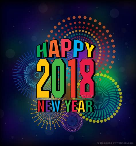new year greeting card design 67