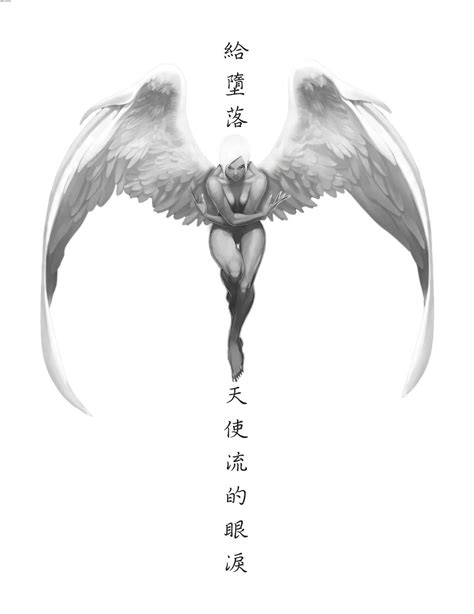 sexy angel tattoo design 60 wonderful fallen tattoos designs with meanings