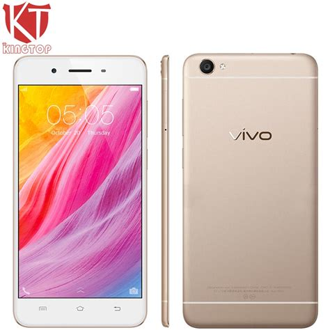 Vivo Y55 Smartphone 16 Gb2 Gb kt new vivo y55 mobile phone 5 2 inch 4g lte 2gb ram 16gb rom octa android6 0 8 0mp