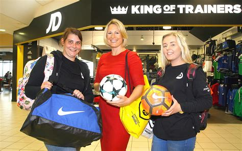 jd sports opens  belfast international airport