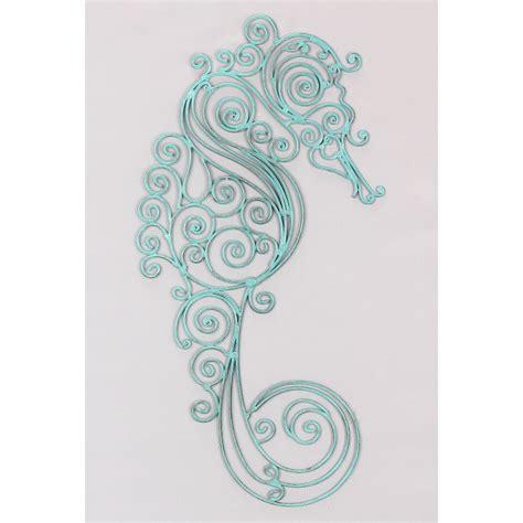 Seahorse Wall Decor by Seahorse Metal Wall
