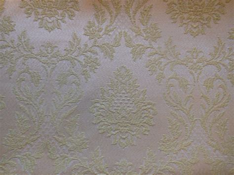 Vintage Upholstery Fabric Uk by Vintage Retro Celery Green Damask Fabric Pattern