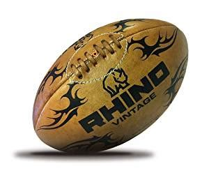 amazoncom rhino rugby vintage leather  wooden
