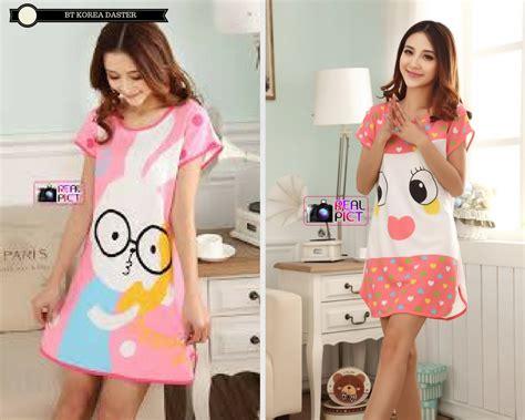 Daster Baju Tidur Murah Meriah Kancing Depan baju tidur korea daster pusat grosir baju pakaian murah